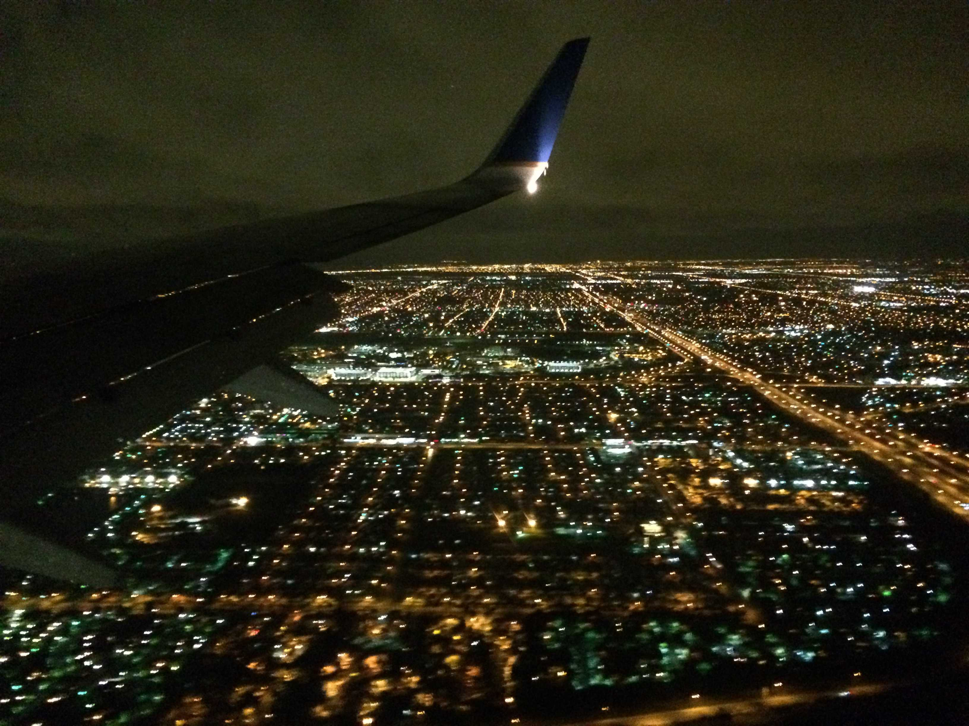 Best Plane Window Seat View Between Newark And Miami