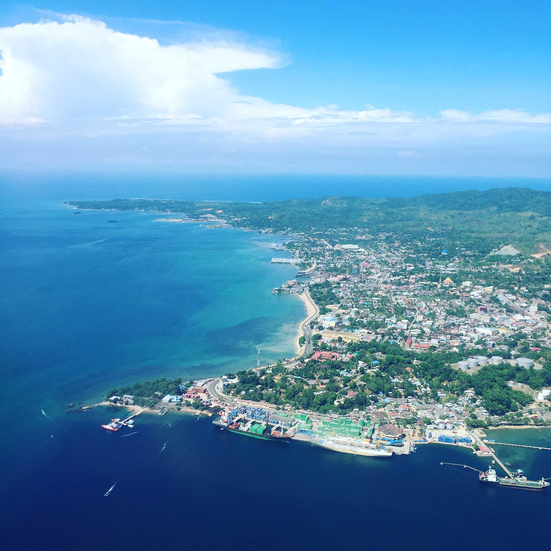 Best Plane Window Seat View Between Sorong Papua Island