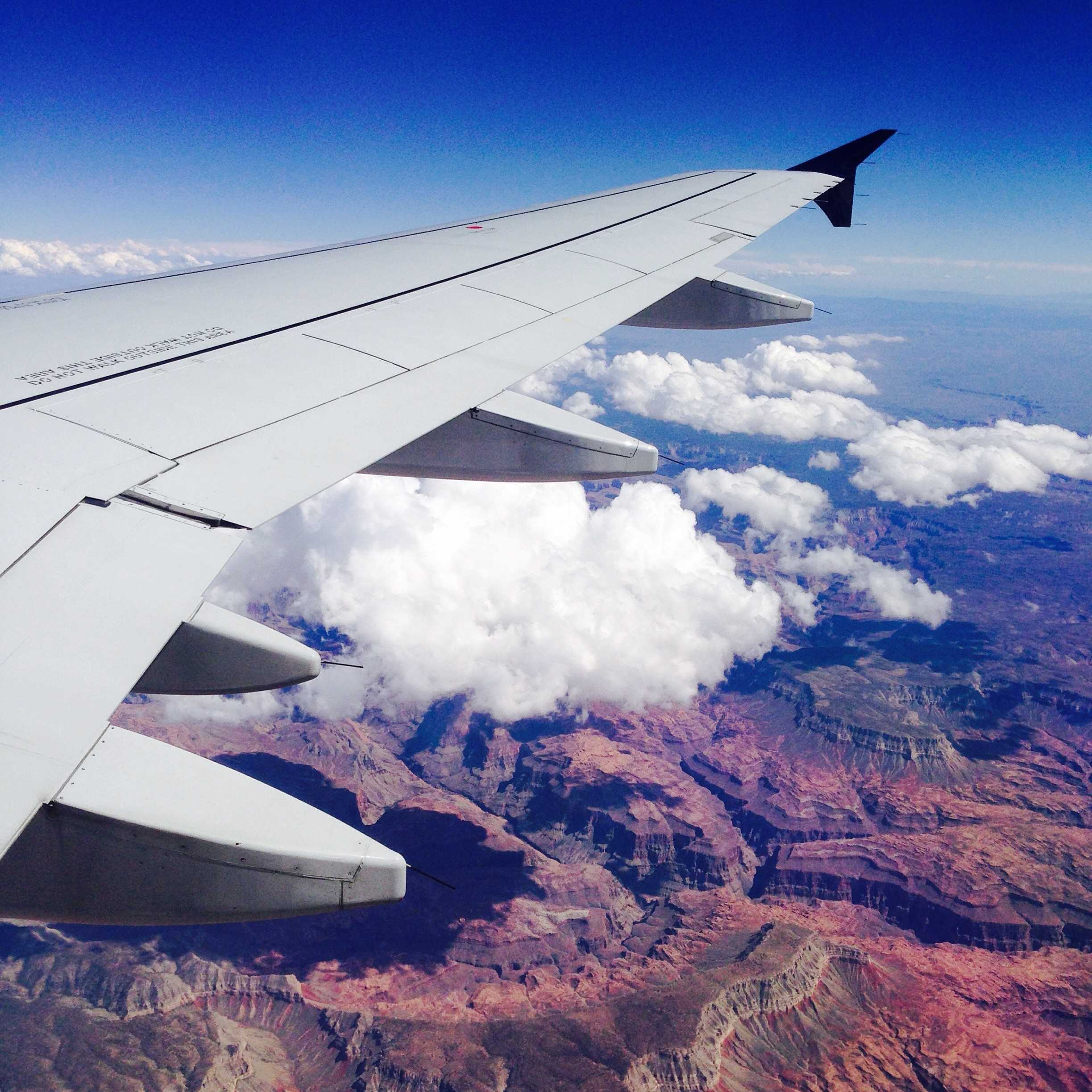 Best Plane Window Seat View Between Las Vegas And Detroit